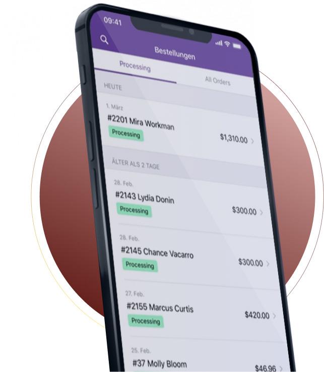 Webshop Smartphone App